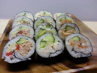 Sushi på bugdet