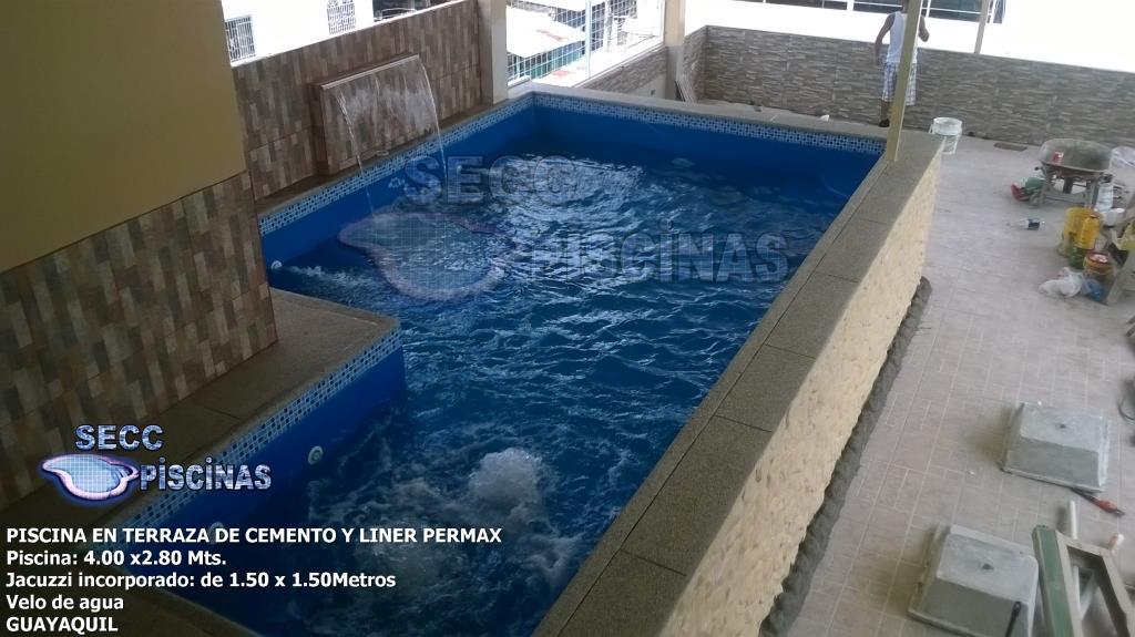 Secc piscinas piscinas en terraza for Terrazas para piscinas elevadas