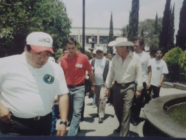 JORNADA DE TRABAJO EN PAPALOTLA CON JORGE EMILIO GONZALEZ MARTINEZ