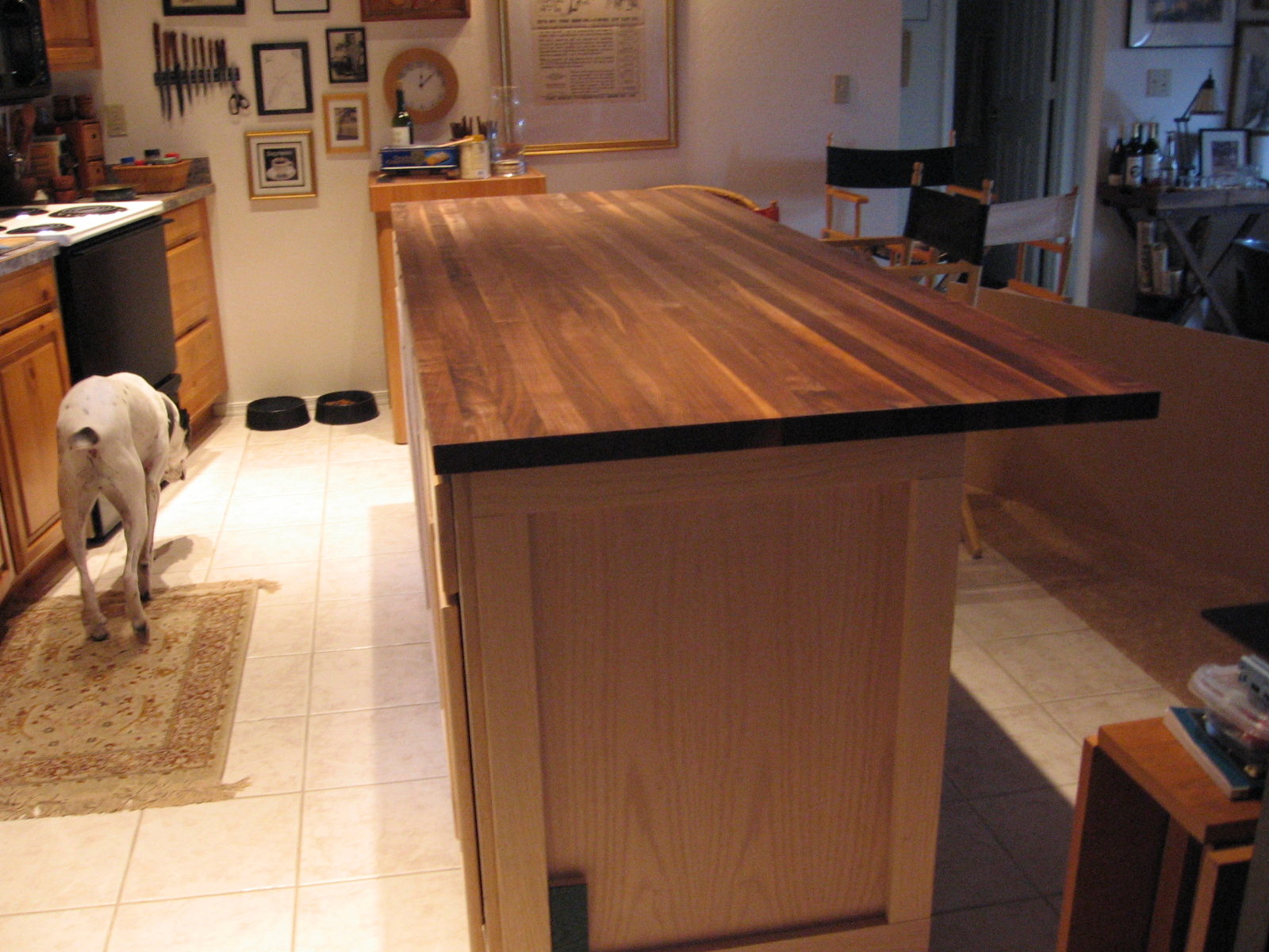Dusty Coyote DIY Kitchen Island