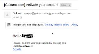 Click Activate.