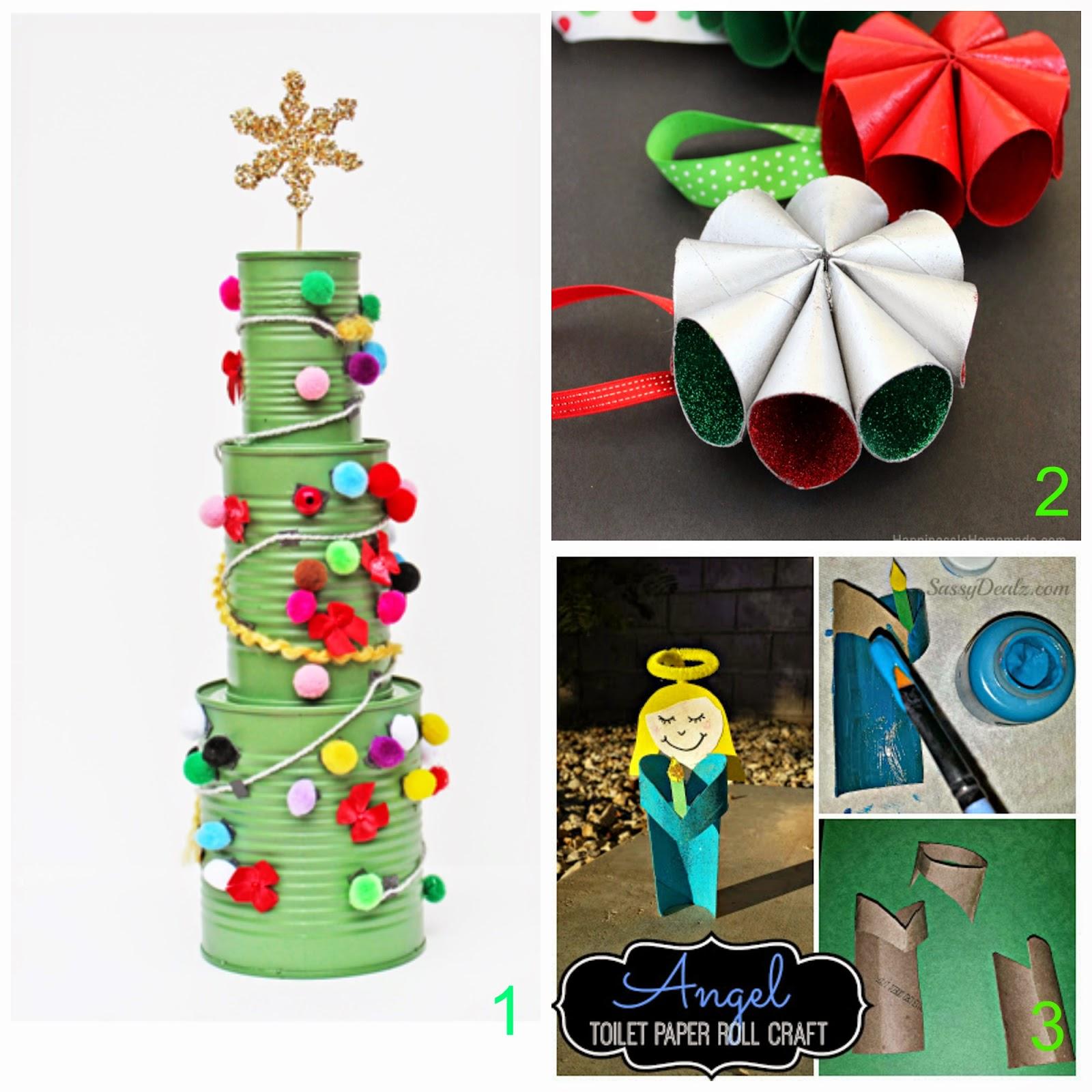 Favorito Mamma Aiuta Mamma: Lavoretti natalizi di riciclo creativo con i bimbi. XJ74