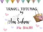 Giveaway : Travel Totebag by Ana Suhana