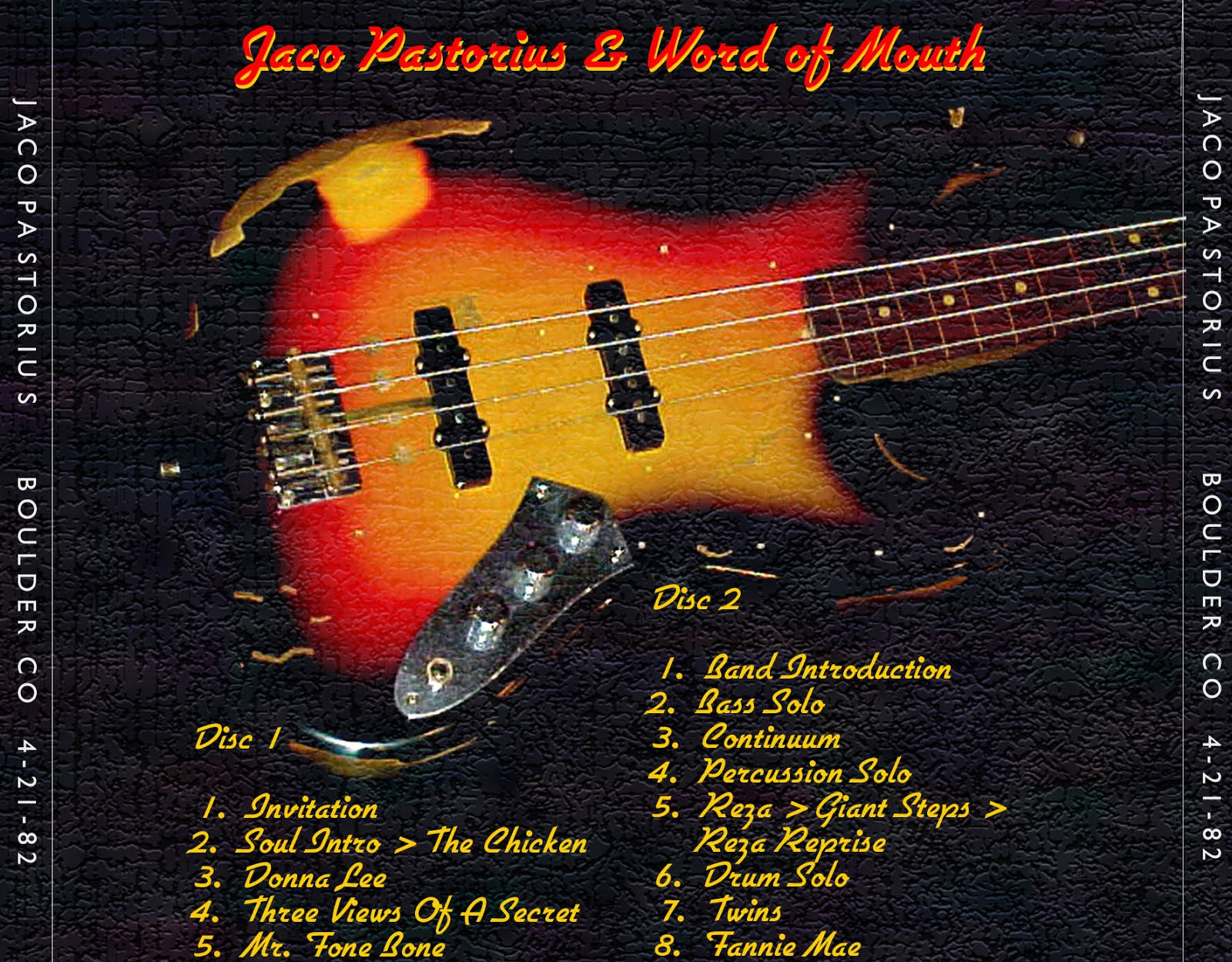 Tube jaco pastorius 1982 04 21 boulder co audflac audience flac stopboris Image collections