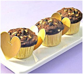 RESEP KUE - VALENTINE CHOCOLATE CHIPS