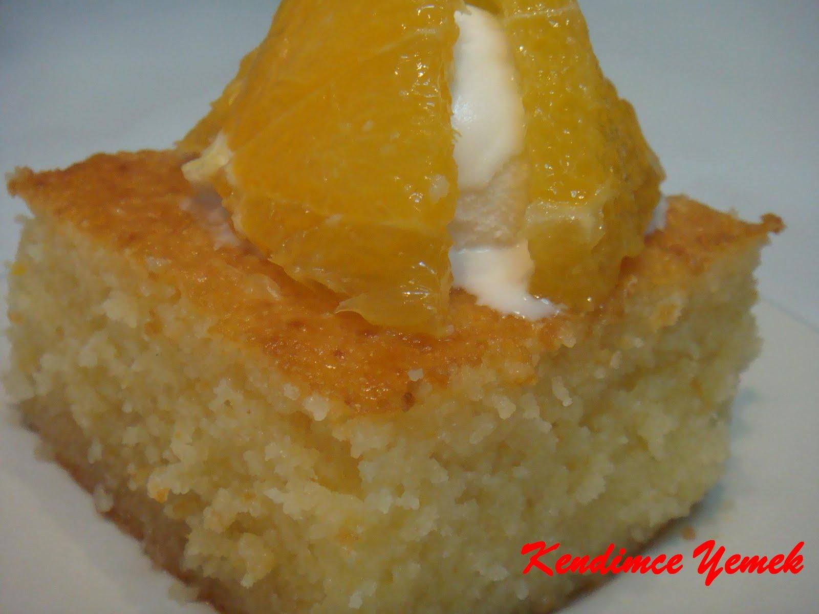 Portakallı Revani Tarifi Videosu