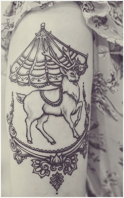 See more  Raindeer tattoo http://tattoosgroup.blogspot.com/