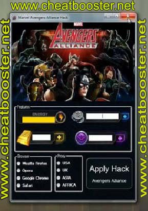 Marvel Avenger Alliance V5.5 Hack Latest Version 2012