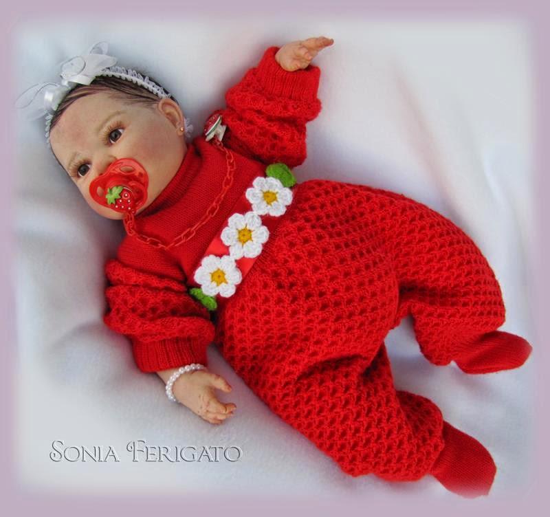 Bebê de Vermelho