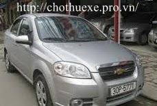 Cho thuê xe 4 chỗ Daewoo Gentra