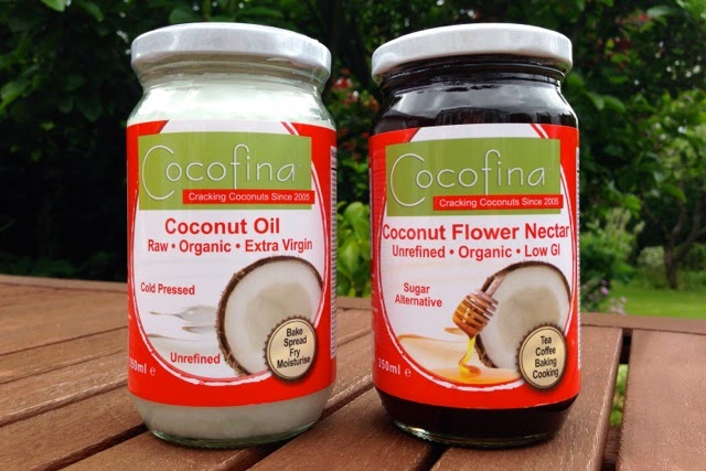 Cocofina Raw, organic, unrefined coconut oil and coconut flower nectar