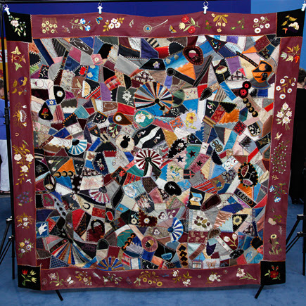 My Pretty Baby Cried She Was a Bird: (Crazy about) Crazy Quilts ... : history of crazy quilts - Adamdwight.com