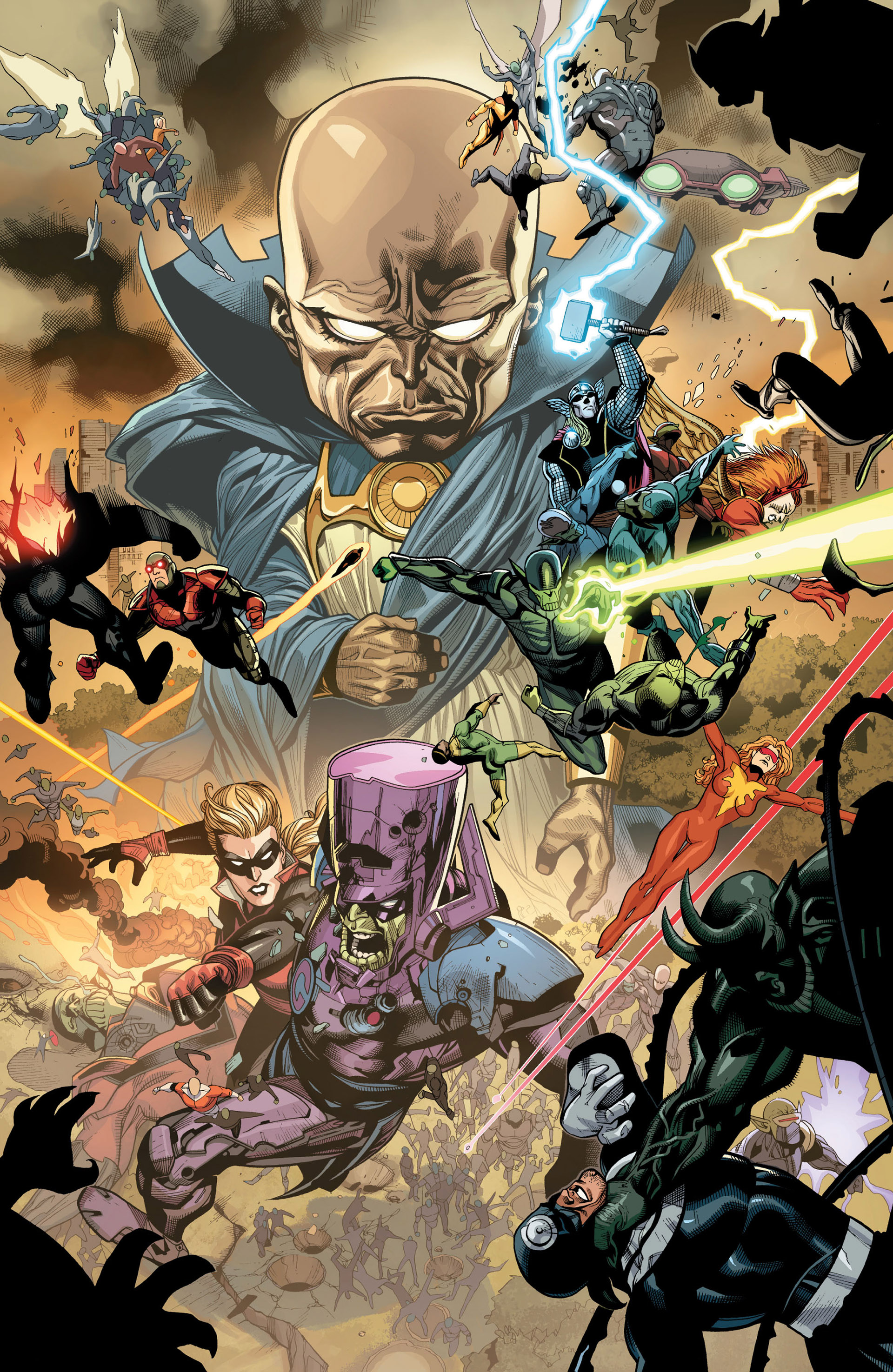 Read online Secret Invasion comic -  Issue #7 - 12