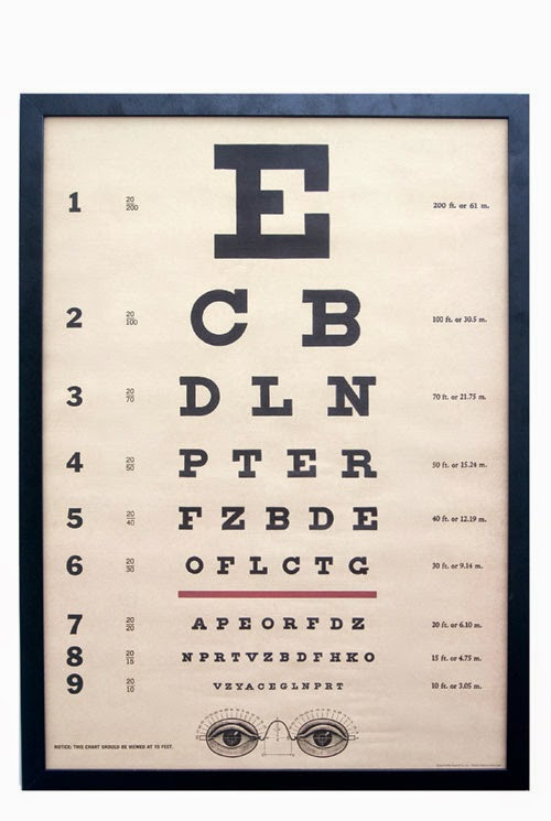 http://www.pierrotetcoco.com/vintage-style-eye-test-framed-poster/