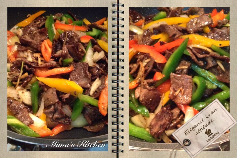 Pepper Steak Stir Fry Black Black Pepper Beef Stir Fry my