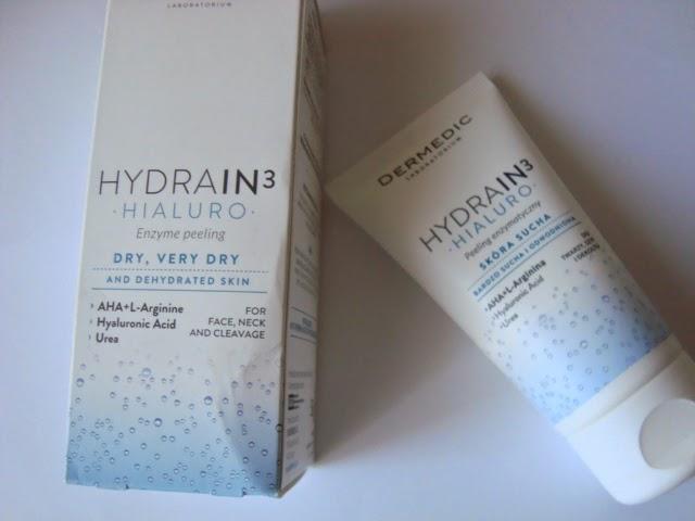 DERMEDIC HYDRAIN3 HIALURO Enzymatyczny peelin