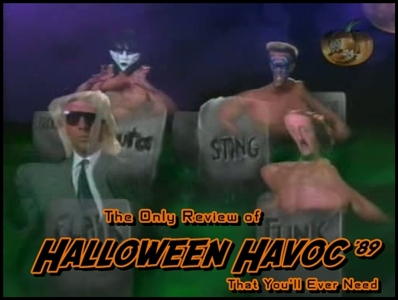 The Only Review of Halloween Havoc 1989 That You'll Ever Need