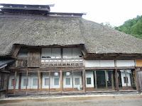 江戸時代から格式のある千葉家の曲がり家