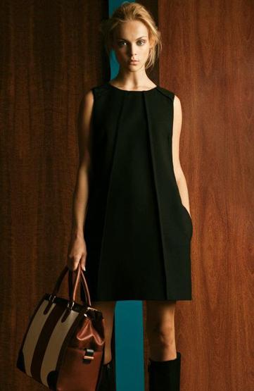 vestidos mujer Massimo Dutti otoño invierno 2011 2012