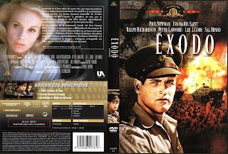 Cover, dvd, carátula: Éxodo   1960