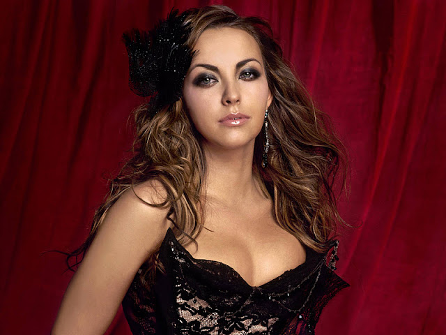 English Singer Charlotte Church