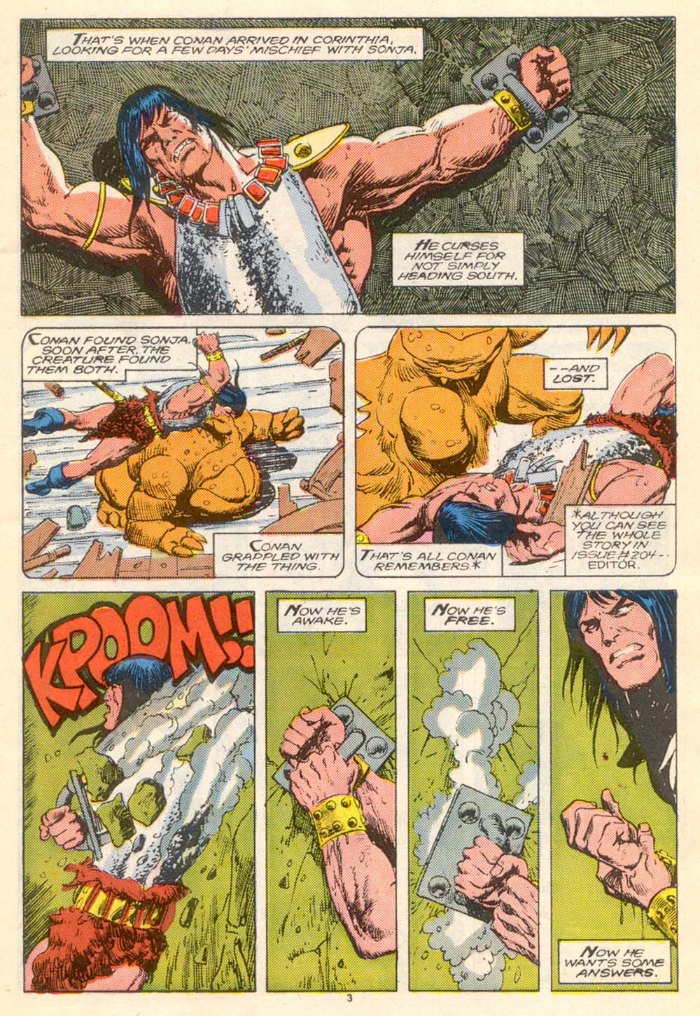 Conan the Barbarian (1970) Issue #205 #217 - English 4