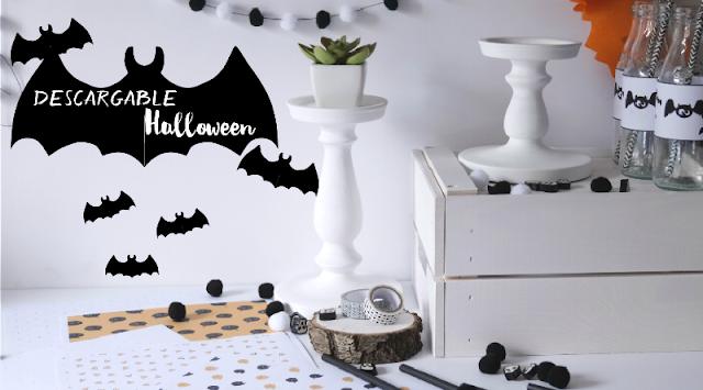 Descargable gratis para Halloween diseño de Habitan2