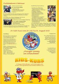 KiDS-Kurs Flyer 2020