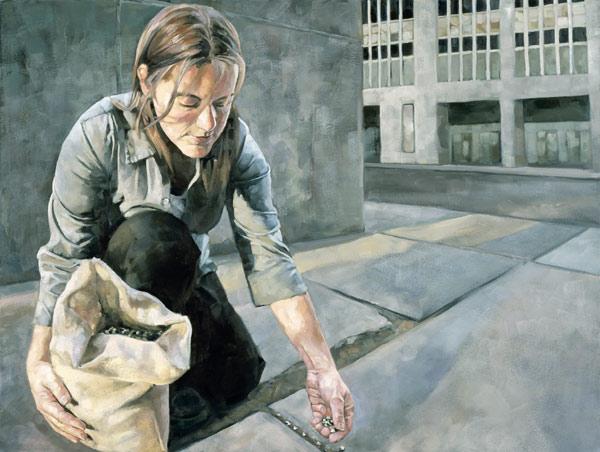 Doctor Ojiplático. Wes Magiar. pintura