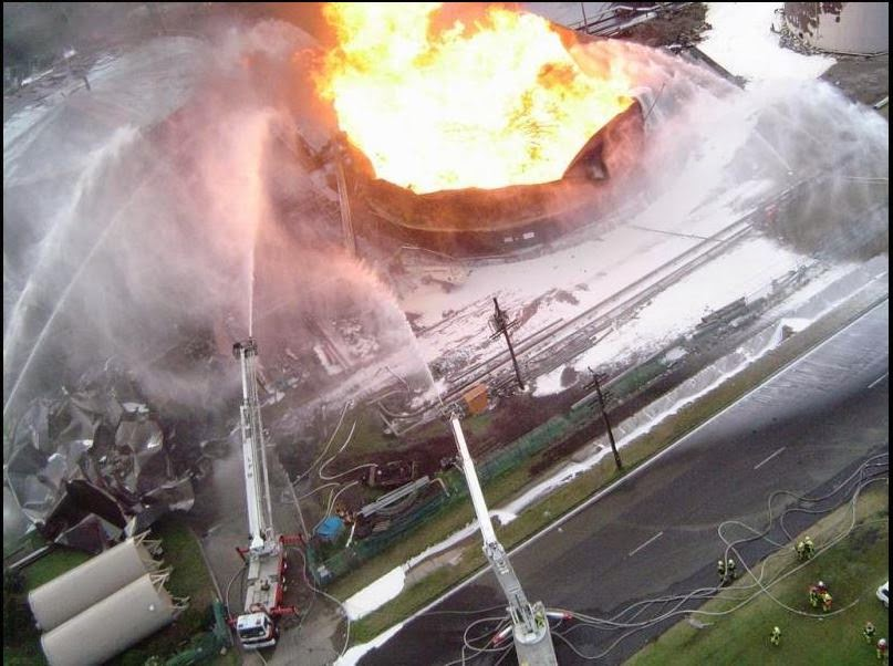 The Fire And Explosion Risks Associated With Ethanol