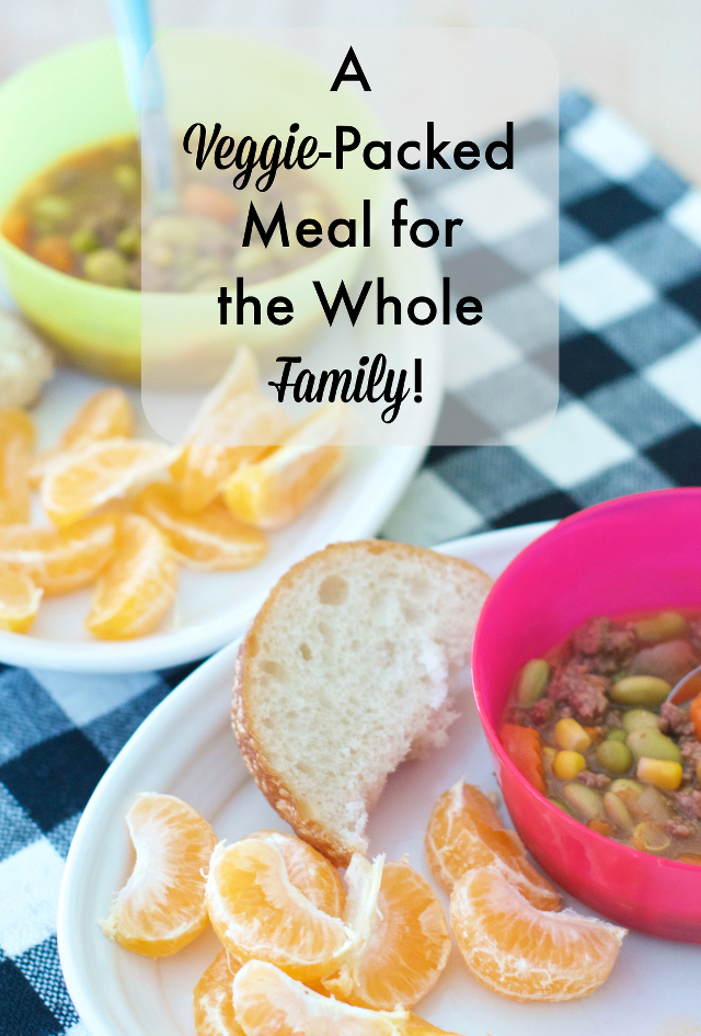 healthy easy meals with veggies for toddlers