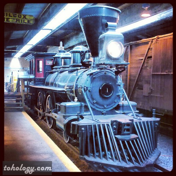 Railway Museum in Winnipeg Canada