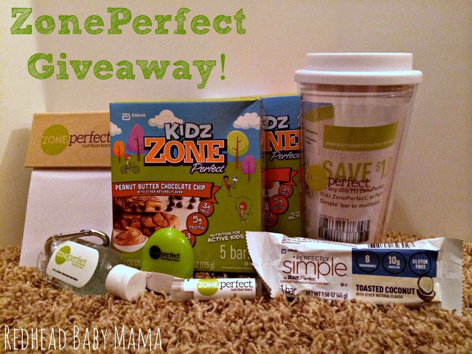 ZonePerfect Giveaway with Redhead Baby Mama