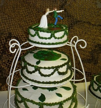 Camoflage brown Wedding Cakes