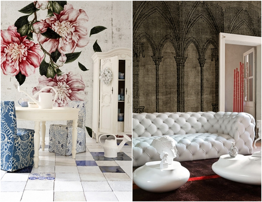 Phenomenal wallpaper from Wall and Deco's Life 2012 Collection .