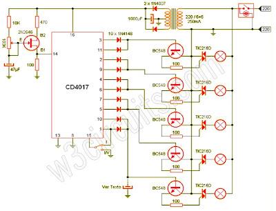 Lights Circuit Diagram