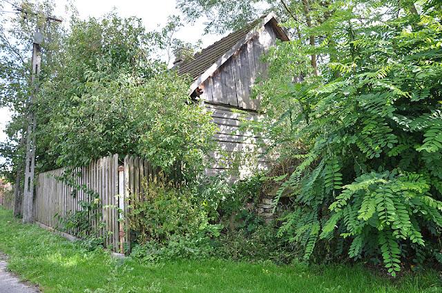 Wąsosz Nowiny, zachowana chałupa położona naprzeciwko getta. Fot. KW.