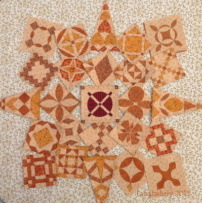 Dear Jane Quilt Update - October 2015