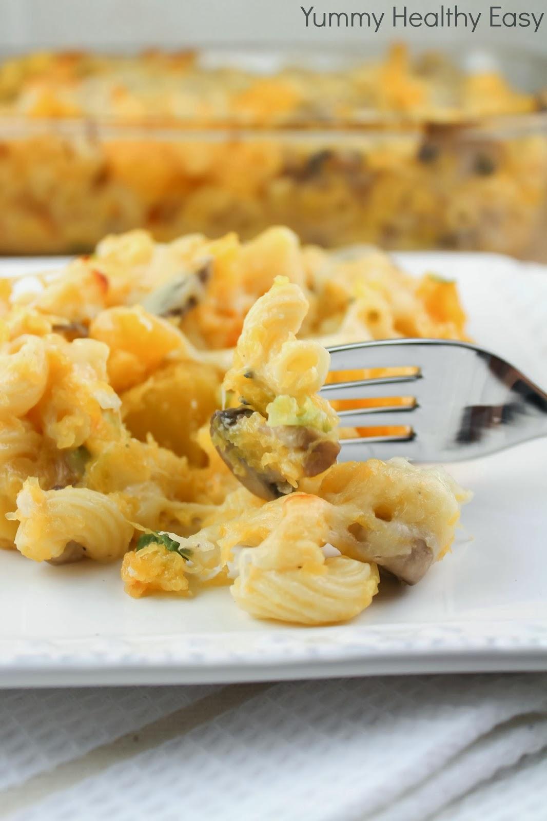 Lighter Baked Mac & Cheese aka Hidden Veggie Mac & Cheese - Yummy ...