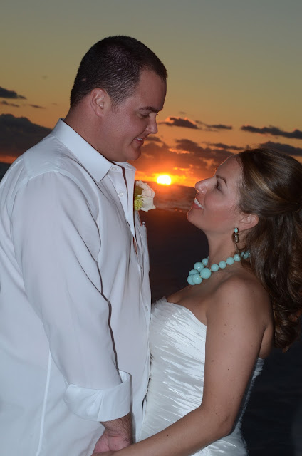 get married at sunset on a Florida Beach