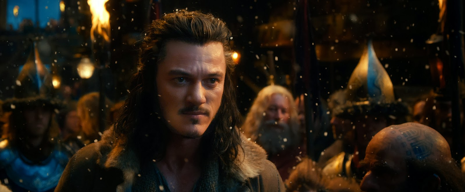 Luke Evans as Bard the Bowman in The Hobbit: The Desolation of Smaug