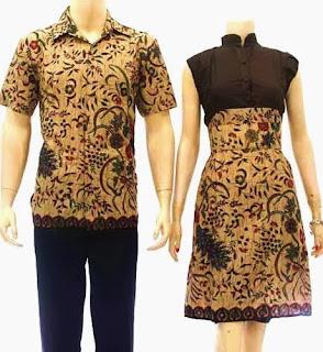 Foto Baju Batik Modern Pekalongan