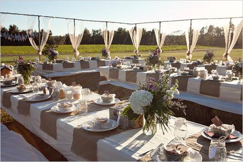 Nice Backyard Weddings : Casamentol?ndia Paleta de Cores  Nudes