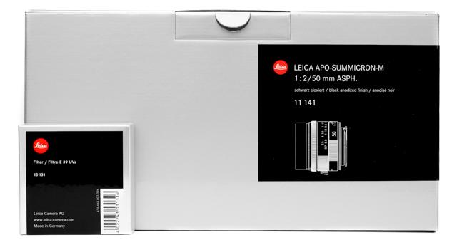 Leica APO-SUMMICRON-M 50mm f/2 ASPH. 1