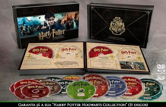 Na Saraiva: 'Harry Potter Hogwarts Collection' por R$ 499,90! | Ordem da Fênix Brasileira