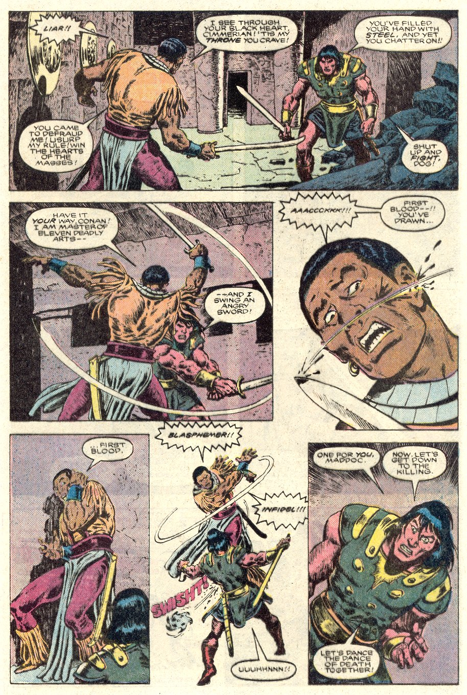 Conan the Barbarian (1970) Issue #184 #196 - English 16