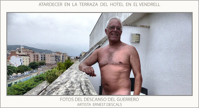 EL VENDRELL-HOTEL-DESCANSO-FOTOS-TERRAZA-ATARDECER-ARTISTA-PINTOR-ERNEST DESCALS-