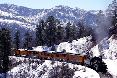 Durango Silverton Narrow Gauge Railroad #ColorfulColorado #Colorado www.thebrighterwriter.blogspot.com