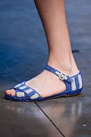 Плетени ниски сандали Dolce & Gabbana