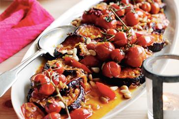 Marrakesh Eggplants & Tomatoes Recipe